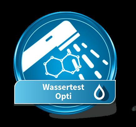 Test de l'eau Opti