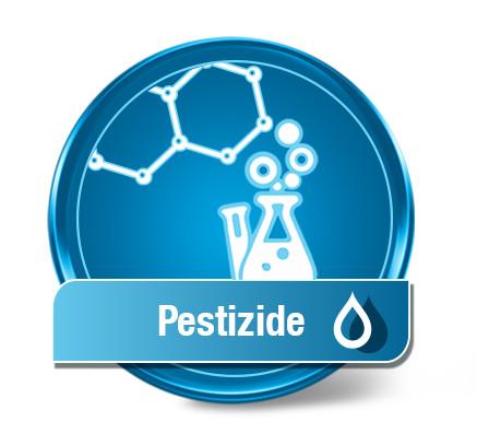Test d'eau de pesticide