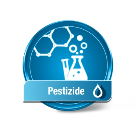 Test d'eau de pesticide