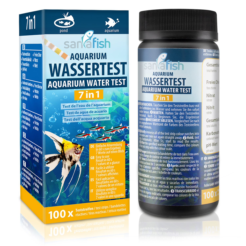 Aquarium Wassertest
